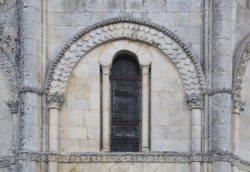 fotos de ventanas románicas