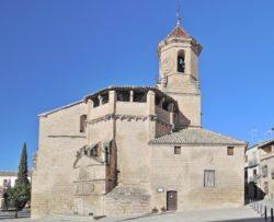 cabecera de la iglesia