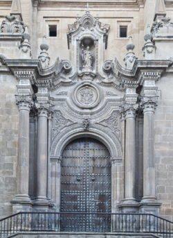 portada de la catedral de guadix