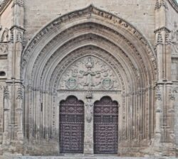 portada, iglesia de san pablo úbeda