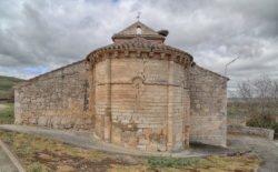 ábside de la iglesia de villavieja de muñó