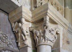 escultura románica de francia