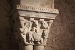 huida a egipto en el románico