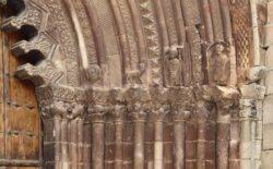 detalle de la iglesia de san román