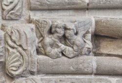 ángeles románicos