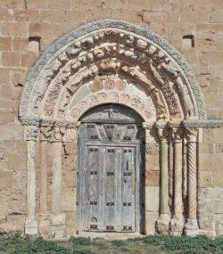 soto de bureba, portada románica
