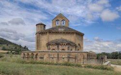 ábside de la iglesia de eunate