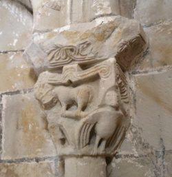 capiteles del románico de burgos