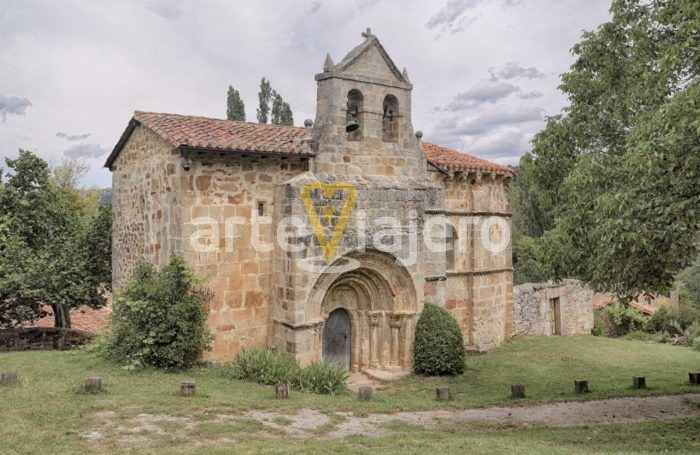 iglesia de crespos, valle de manzanedo