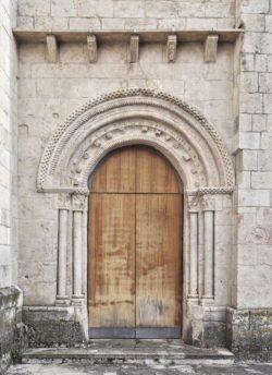 iglesia de el almiñé, portada