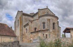 le bourg église romane
