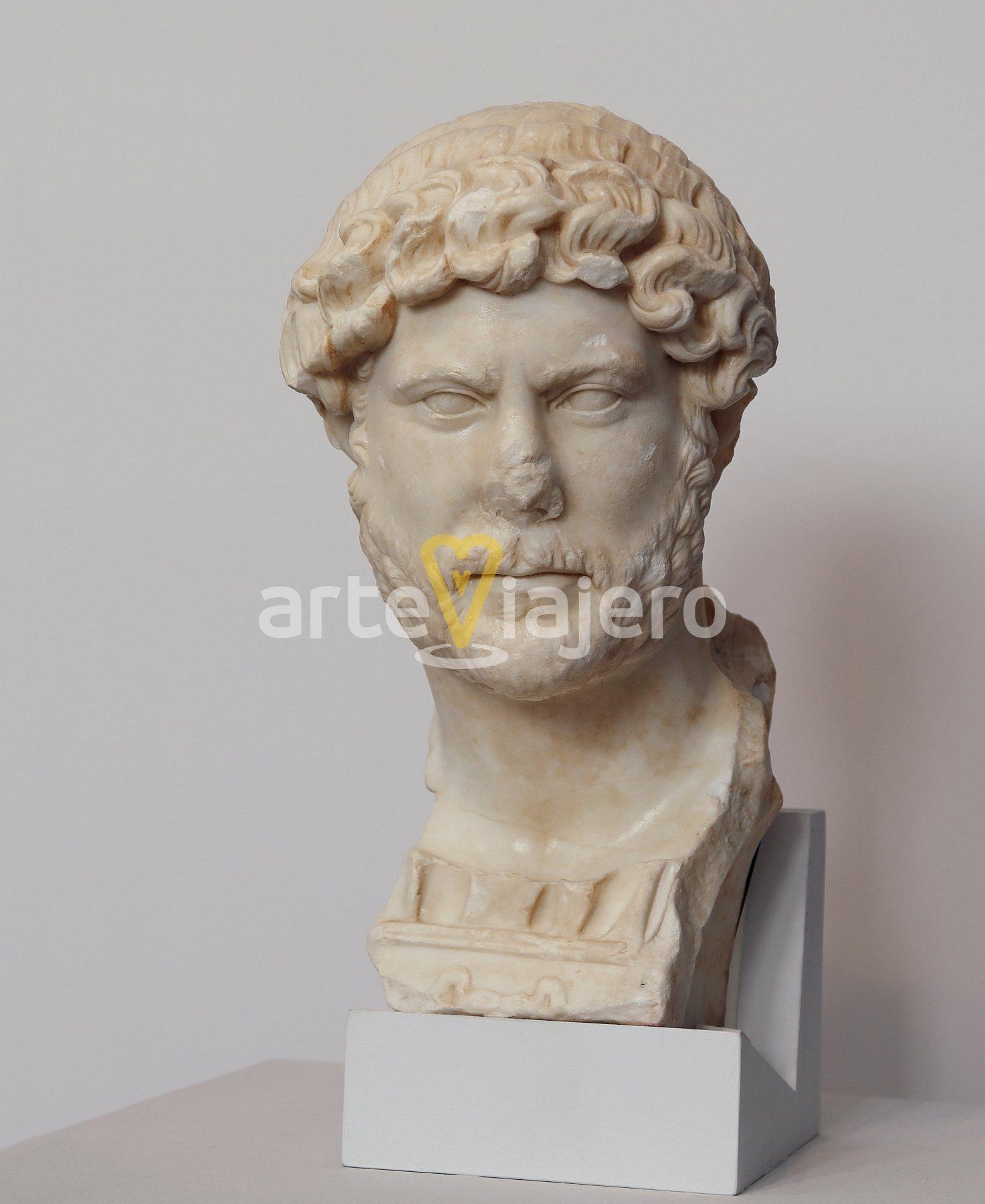 busto de adriano, yecla