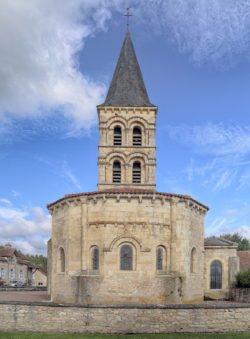románico borgoña