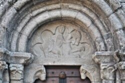 tímpano románico de galicia