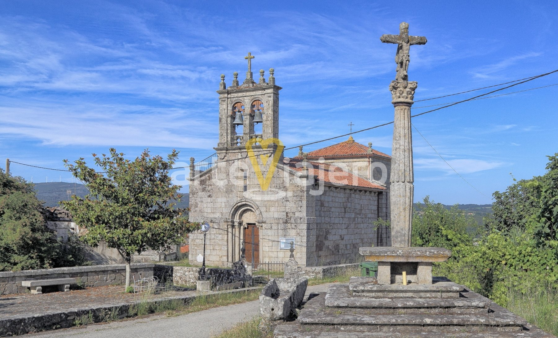 iglesia de santiago de taboada de silleda