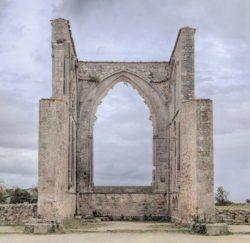 abadía en ruinas