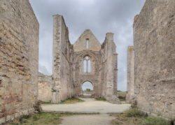 isla de ré, abbaye notre-dame-de-ré, châteliers