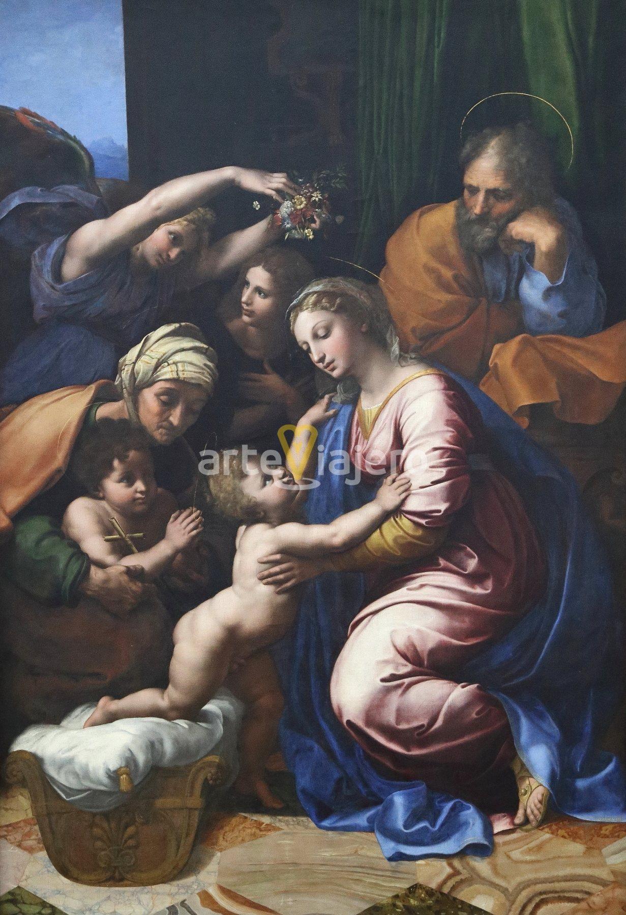 la sagrada familia de rafael