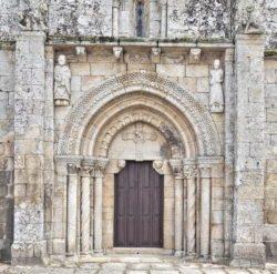portadas del románico de galicia