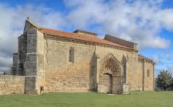 iglesia de villaldemiro, gótico