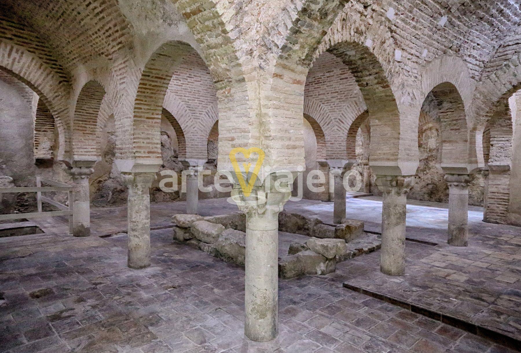 baños árabes de jaén, palacio de villardompardo
