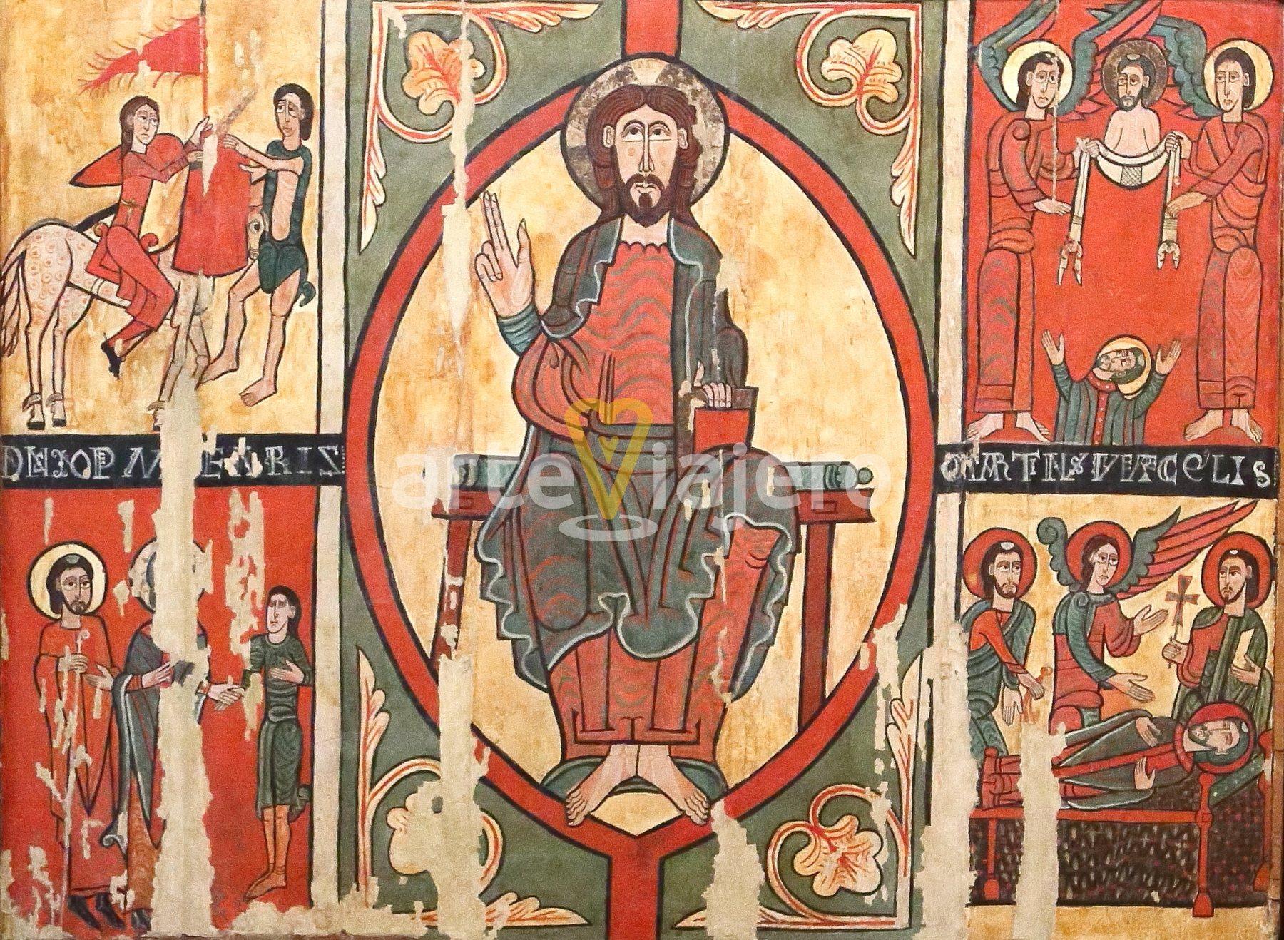 frontal de altar de sant martí de puigbò