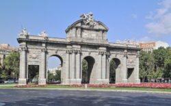 puerta de alcalá, plaza de la independencia