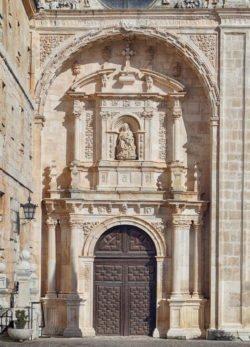 monasterio de la vid portada
