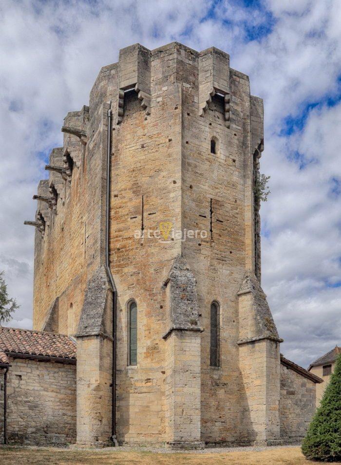 iglesia fortificada rudelle