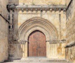 iglesia de santa marina córdoba, portada