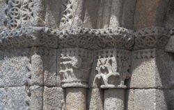 capiteles de la iglesia de boado