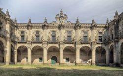 claustro del monasterio de celanova