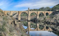 reflejos puente romano