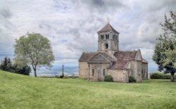 románico en borgoña