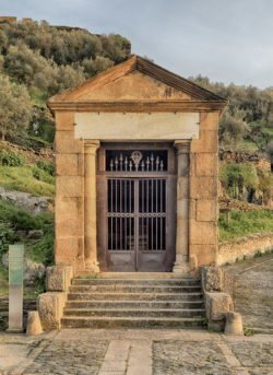 templo romano, alcántara