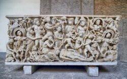 mito de prometeo, sarcófago