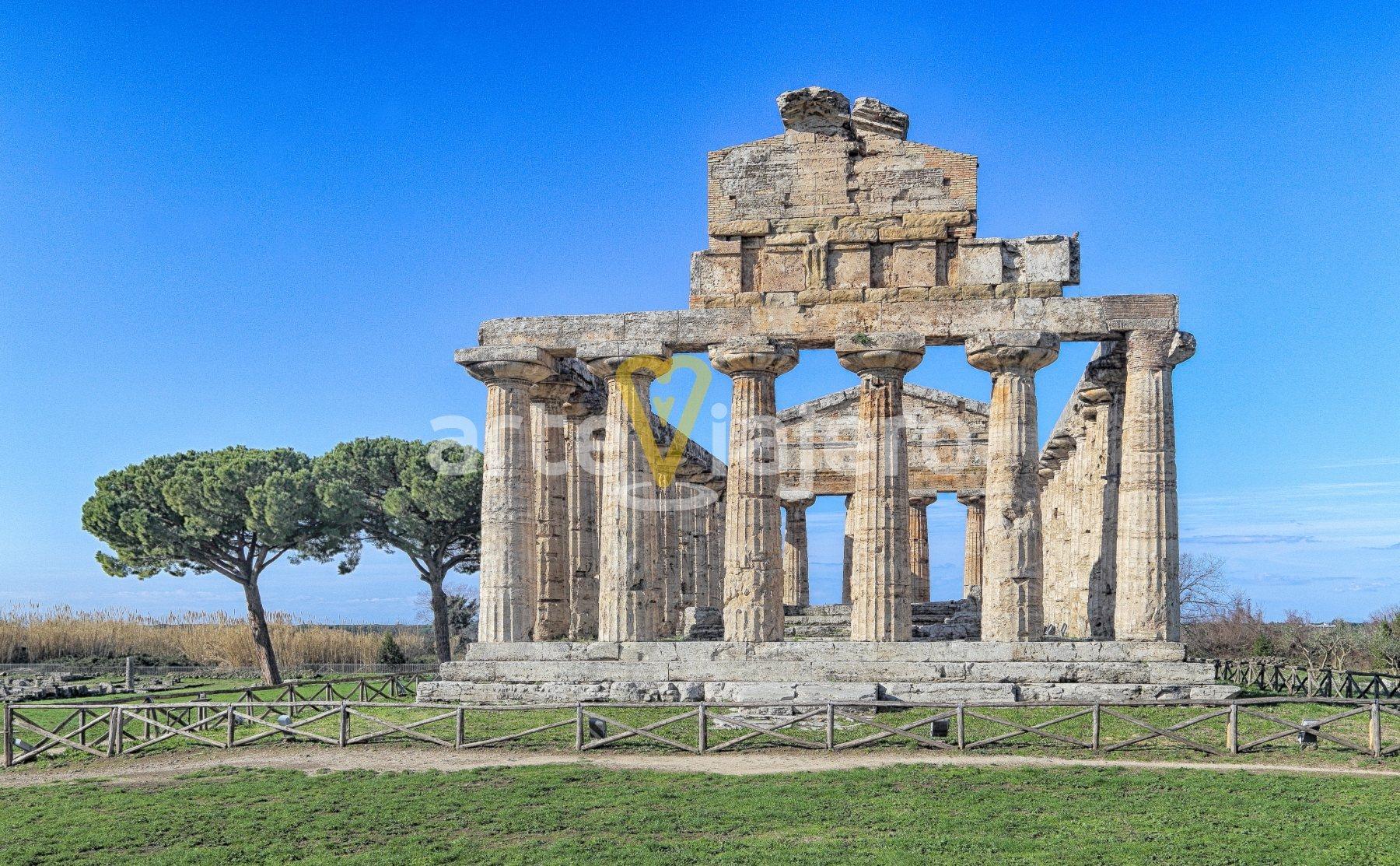 templo de atenea, paestum