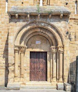 portada de la iglesia del cristo de cataláin