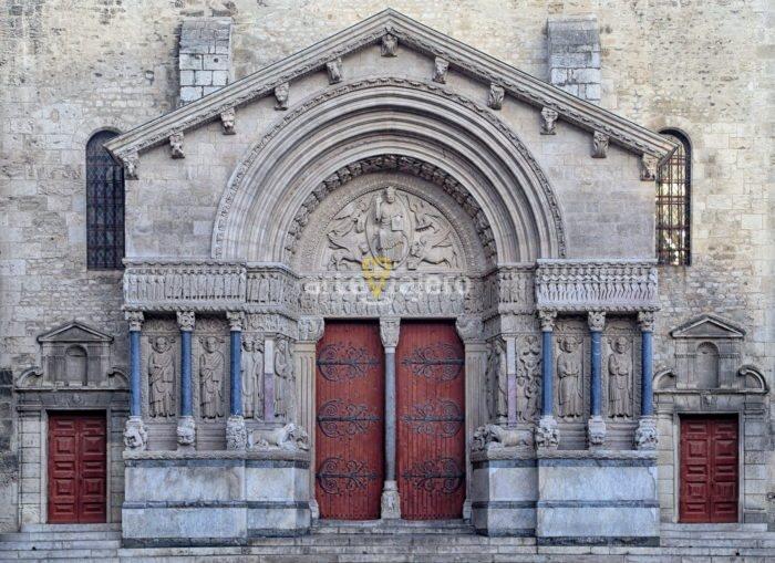 iglesia de san trófimo, arlés