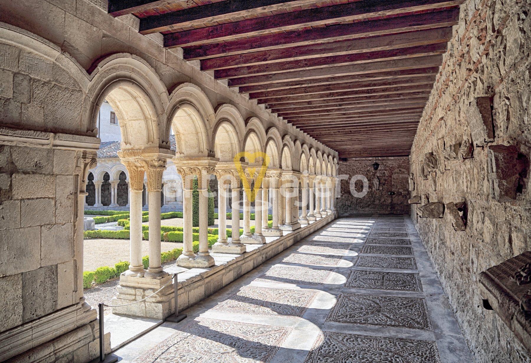 claustro, monasterio de las huelgas