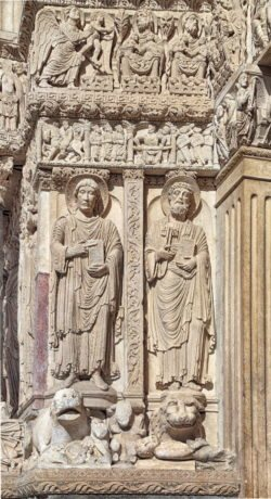 portal saint trophime arles