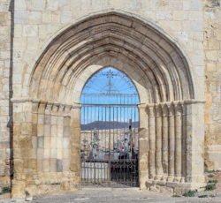 portada iglesia de uceda
