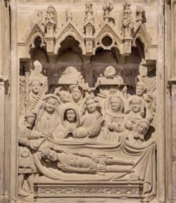 relieve gótico