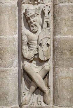 rey david, santo domingo de la calzada