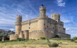 castillo de manzanares el real, castillo de los mendoza