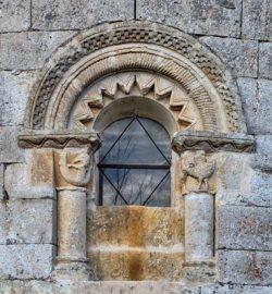 ventana del ábside