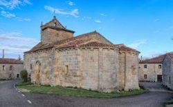 iglesia con dos ábsides