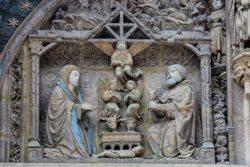 esculturas con policromía