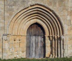 albaina, portada románica