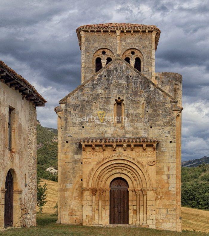iglesia de san pedro de tejada, arteviajero